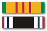 Vietnam and POW Service Ribbons